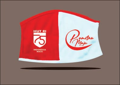 Masker Merah Putih